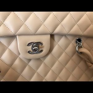 CHANEL Bags - Large, light pink quilted Chanel bag